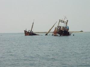 Nasedla ladja
