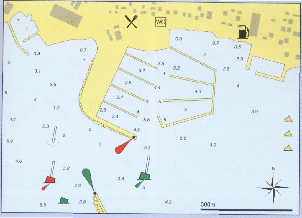 Zemljevid Marine Umag