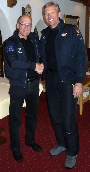 Legendarni skipper Jochen Schümann na jadrnici Esimit Europa 2