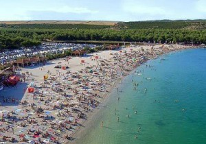 plaža pag zrče novalja