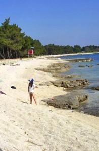 Plaža v Istri