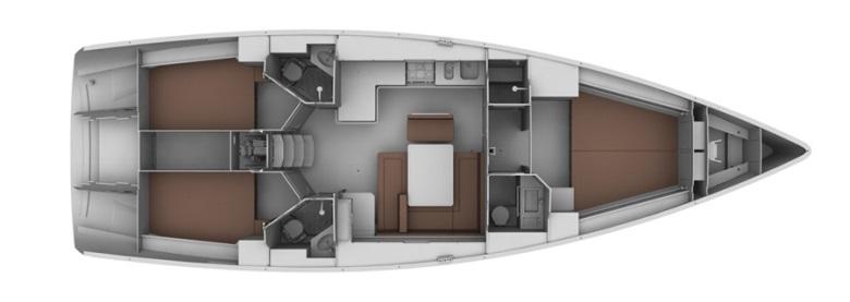 Test jadrnice Bavaria 45 Cruiser